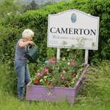 Camerton Sign