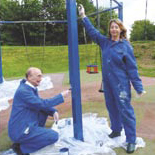 Refurbishing Play Equipment