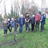 Supporters of Bath in Bloom Tree Planting