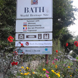 Bath City Sign